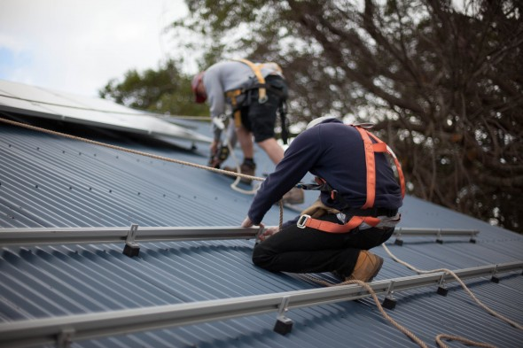 Installing solar PV systems